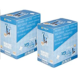 Weruva Cats in the Kitchen Cat Food, 1 if by Land, 2 if by Sea, 3-Ounce Pouches (2PK of 8 Pouches)