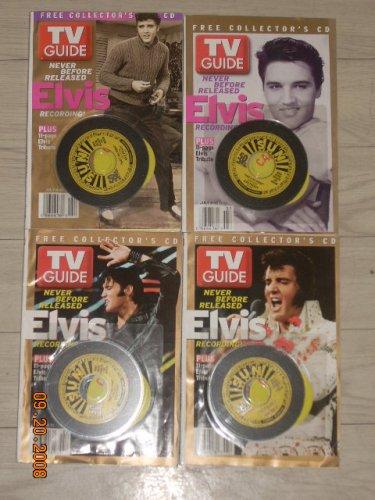 Tv Guide: Elvis Presley (Volumes 1-4)