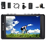FEELWORLD F450 4.5Inch IPS 1280X800 HD 4K HDMI Camera Field Monitor With HDMI Input/Output Support Peaking Focus DSLR Camera Monitor (Include battery and battery charger)