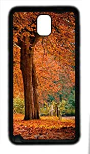 galaxy note 3 case,custom samsung galaxy note 3 case,TPU (Rubbber) Material,Drop Protection,Shock Absorbent,black case,The leisure time under the tree 2