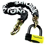 Kryptonite 5ft Fahgettaboutit Bike Lock and Chain