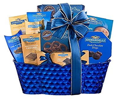 Wine Country Gift Baskets Ghirardelli Gift Basket Christmas Chocolate Gift Basket. Edible Arrangements Delivered. Perfect As A Corporate Gift Thank You Gift, Appreciation Gift Basket.