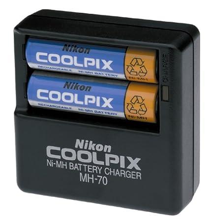 amazon com nikon battery and mh 70 charging kit for coolpix 2100 rh amazon com nikon mh 62 manual nikon mh-63 battery charger manual