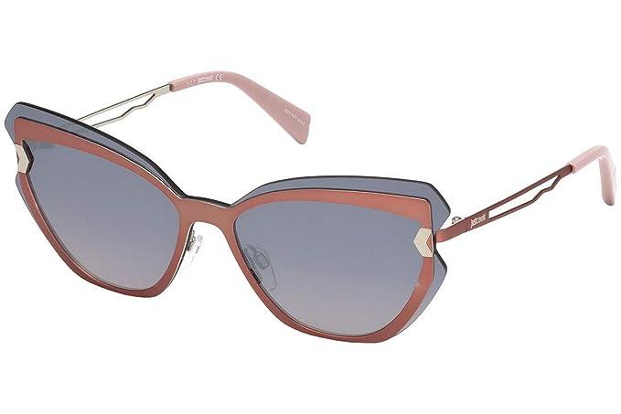 Just Cavalli JC833S 72C 00 Gafas de Sol, (Rosa Luc/Fumo ...