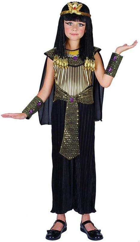 Wicked Costumes - Disfraz infantil de Cleopatra (talla L 134-146cm ...