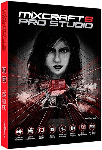 Acoustica Mixcraft 8 Pro Studio Academic Edition - Box (Windows 8 Pro Academic)