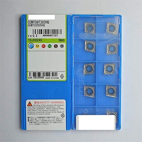 10Pcs Gaobey CCMT09T302HQ CCMT32505HQ TN60 CNC Carbide Inserts