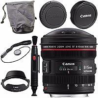 Canon EF 8-15mm f/4L Fisheye USM Lens 4427B002 + Lens Pen Cleaner Bundle