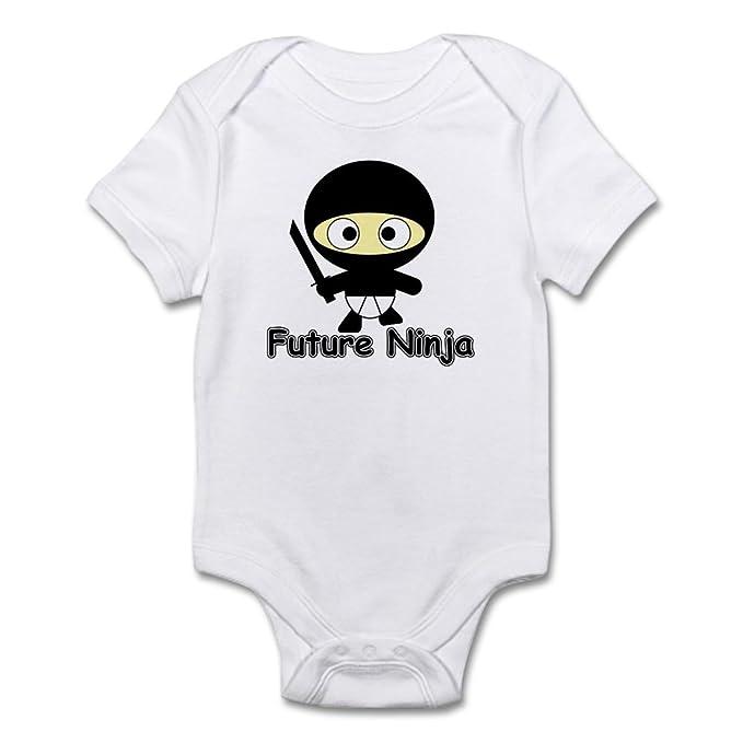 Amazon.com: CafePress-Future Ninja-Cute Infant Bodysuit Baby ...