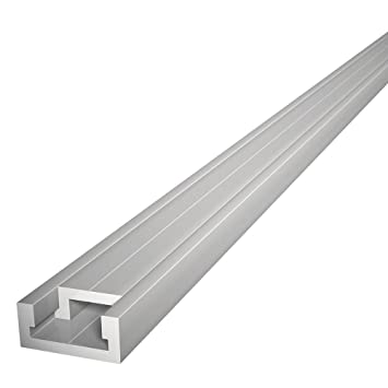 48u0026quot; ALUMINUM MITER T TRACK WITH MITER T  BAR By Peachtree Woodworking