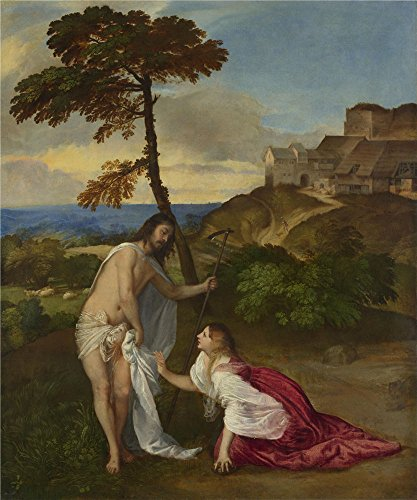 Perfect Effect Canvas ,the Beautiful Art Decorative Prints On Canvas Of Oil Painting 'Titian Noli Me Tangere ', 8 X 10 Inch / 20 X 24 Cm Is Best For Basement Gallery Art And Home Artwork And Gifts - Target Sweet Fox Costume
