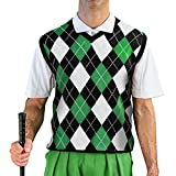 GolfKnicker Argyle V-Neck Golf Sweater Vests: Mens - Pullover (AAA-ZZZZ)
