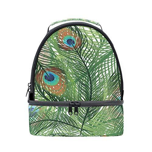 térmica para para ajustable correa de Alinlo el el plumas Bolsa de hombro real diseño con almuerzo pavo FECq5