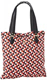 Juicy Couture Drew Printed Canvas YHRU3482 Tote,Siren,One Size