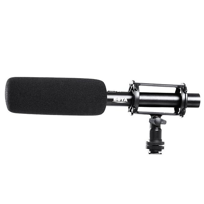 2 opinioni per BOYA BY-PVM10003-pin XLR Uscita microfono a condensatore per DSLR Camera–Nero