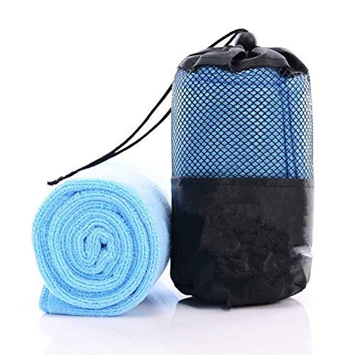 Microfiber Quick Dry Face Bath Towel Portable Ultralight Beach Camping Swimming