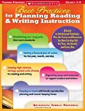 Best Practices for Planning Reading and Writing Instruction, Antoinette Cerulli Fornshell and Antoinette Cerulli Fornshell, 0439365961
