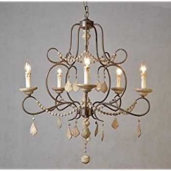 french country chandeliers white this item light wood and iron chandelier lighting canada for dining room