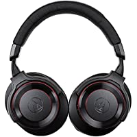 audio-Technica Wireless Headphone SOLID BASS ATH-WS990BT BRD (BLACK & RED)【Japan Domestic genuine products】