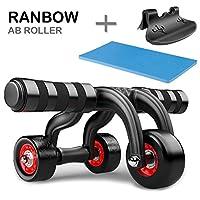 Ranbow Bauchmuskeltraining Ab roller Bauchtrainer Effizientes...