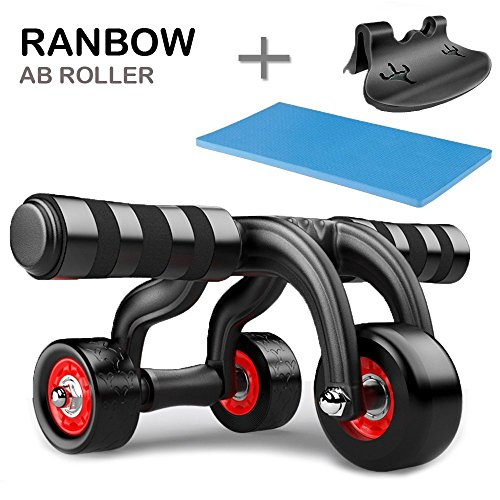 ranbow core fitness ab roller pro wheel home workout. Black Bedroom Furniture Sets. Home Design Ideas