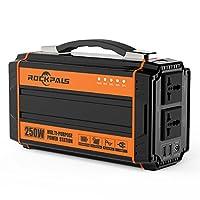 250w Portable Solar Power Generator