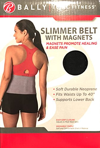 bally-total-fitness-slimmer-belt-with-magnets-for-women-waist-up-to-40
