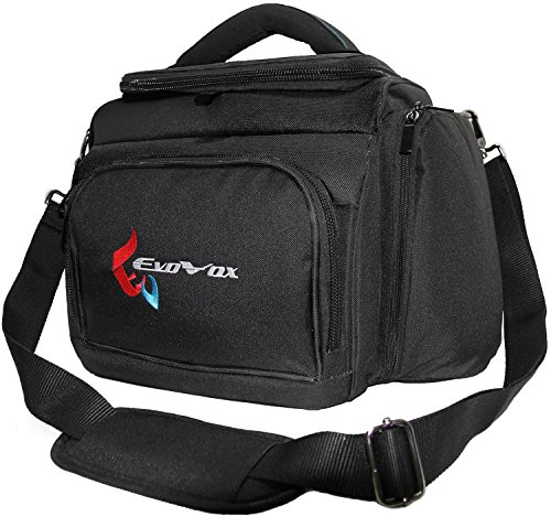 EvoVox Insulated Cooler Bag with Removable Inner Liner - Black (Nfl 24 Can Cooler compare prices)