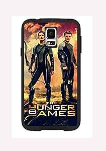 Case Cover Design The Hunger Game Hit HG01 for Samsung S3 mini Border Rubber Pvc Case Black@pattayamart