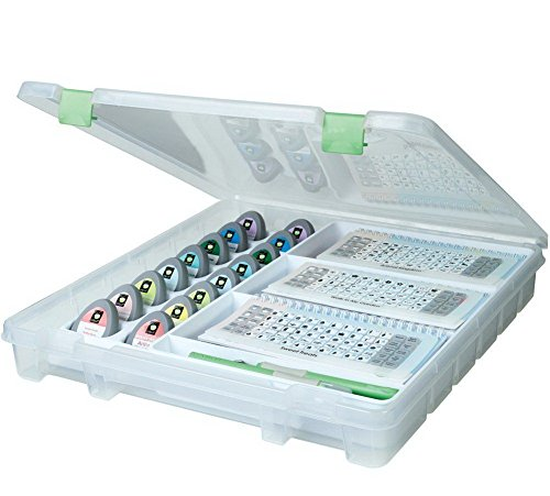 Artbin Cricut Cartridge and Tool Storage. Organizer Case Satchel Trays Container by Display & Storage