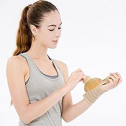 Bracoo Wrist Splint with Thumb Stabilizer(Left Hand)