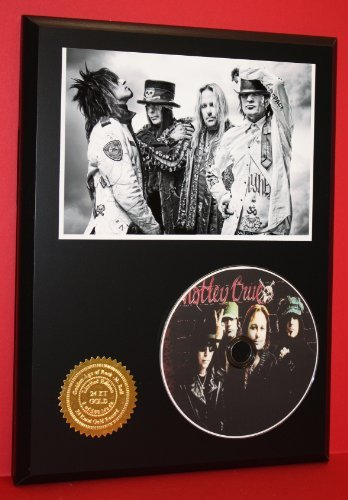 Motley Crue Limited Edition Picture Disc CD Rare Collectible Music Display