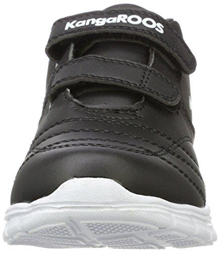 KangaROOS BlueRun 2081, Zapatillas Unisex Niños Schwarz (Black)