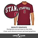 Campus Colors NCAA Adult Arch & Logo Soft Style