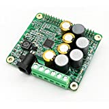 Inno-Maker Raspberry Pi HiFi AMP HAT 25W Class-D Power Amplifier TAS5713 Expansion Board Audio Module for Raspberry Pi 3 B+ Pi Zero Nichicon Capacitor (AMP HAT)