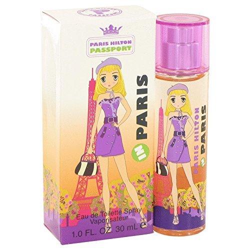 Paris Hilton Spray Eau De Toilette - Paris Hilton Passport In Eau De Toilette Spray, 1 Ounce