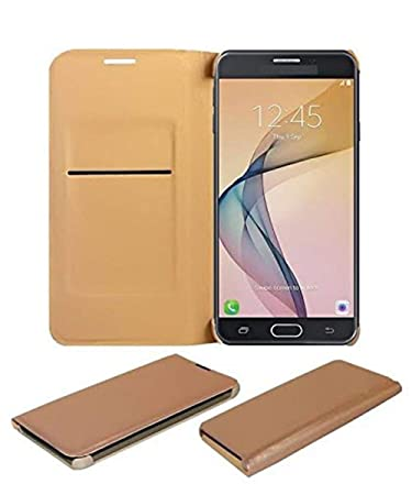 COVERNEW Flip Cover for Asus Zenfone 3 Laser ZC551KL  5.5 inches    Golden Cases   Covers