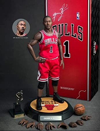 a51d15d23ecc3 Derrick Rose Chicago Bulls 1/6th Scale 12
