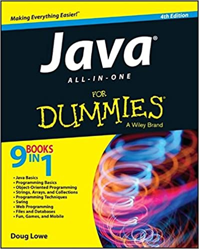 Java All In One For Dummies Doug Lowe 8601404287114 Amazon Com Books