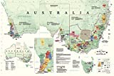 img - for Wine Map of Australia book / textbook / text book