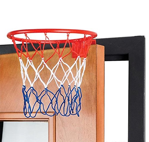 Review 8-Inch Over The Door Basketball Hoop – With mini Ball Set Or On The Wall – Fun Sports Game – Great for Kids, Teens And Adults – By Kidsco