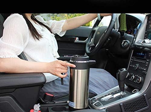 RYTLG 1200 ML 24 V Voiture électrique Chauffage Tasse Voiture Allume-Cigare véhicule Eau chauffée Bouilloire Bouteille d'eau Voyage Utilisation en Acier Inoxydable