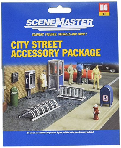 Walthers, Inc. City Street Accessory Package Kit Supreme Accessory Package