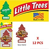 Little Trees Spice Market Air Freshener U1P-10284 (PACK OF 12)