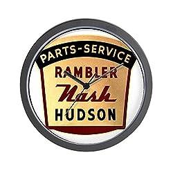 CafePress - nash rambler hudson hornet Wall Clock - Unique Decorative 10 Wall Clock