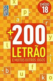 Coquetel - + de 200 Letrao - Nivel Medio - Lv 18
