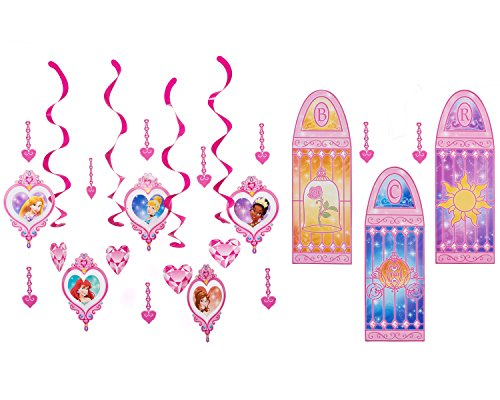 Disney Princess Room Decorating Kit, Value Pack, Party Supplies -