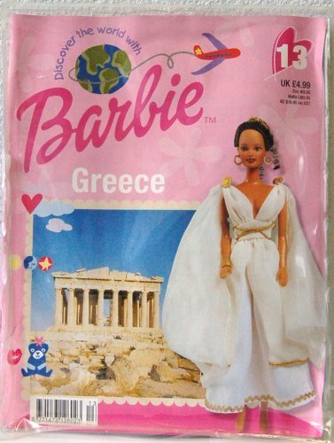 Discover the World with Barbie - Greece Accessary Outfit and Book (2002 -