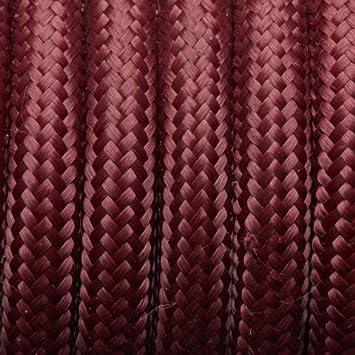 2/Core 3/Core torsad/ées 3/Core ronde italien vintage color/é 0,75/mm en tissu tress/é c/âble /électrique Flexible anglais de haute qualit/é d/éclairage Fil de c/âble 5/metres