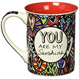 """Our Name is Mud """"Love You More"""" Cuppa Doodle Stoneware Mug, 16 oz."""